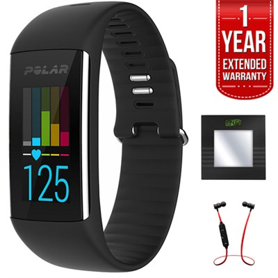 A360 Fitness Tracker w/ Wrist H.Rate Monitor+B.tooth Scale & Headphone Kit