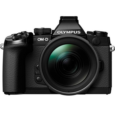 OM-D E-M1 Mirrorless Camera M.Zuiko Digital ED 12-40mm f/2.8 PRO Lens Black