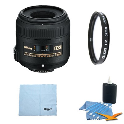 AF-S DX Micro-NIKKOR 40mm f/2.8G Pro Kit