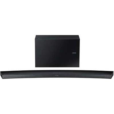 HW-J7500 - Curved 8.1 Channel 320 Watt Wireless Audio Soundbar(Black) - OPEN BOX