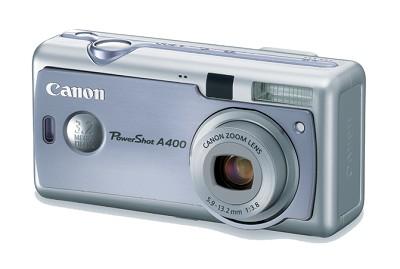 PowerShot A400 Digital Camera (Sky Blue)