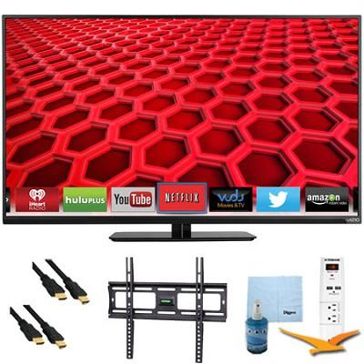 42` Full-Array 1080p 120Hz LED Smart HDTV Plus Mount & Hook-Up Bundle (E420i-B0)