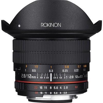12mm F2.8 Ultra Wide Full Frame Fisheye Lens for Canon EF