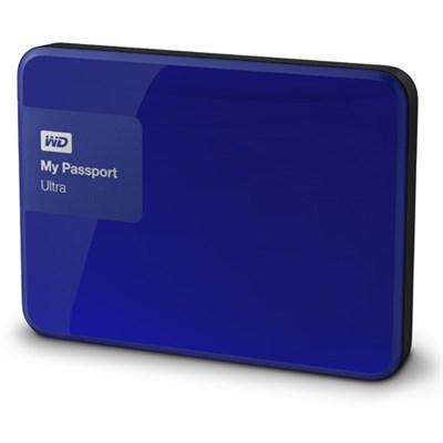 My Passport Ultra 4 TB Portable External Hard Drive, Blue