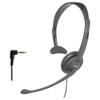 KX-TCA86 Handsfree Headset with Folding Design and Noise-Canceling Mic