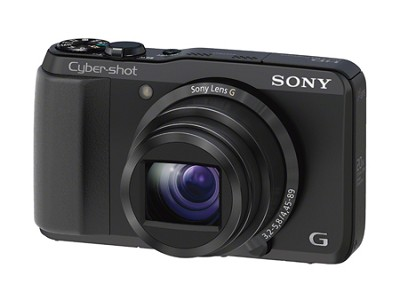Cyber-shot DSC-HX20V 18.2 MP 20x Optical Zoom Geotagging Ultrazoom Camera
