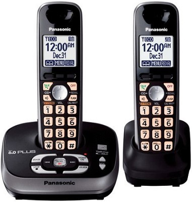 KX-TG4032B DECT 6.0 Plus Expandable Digital Cordless Answering System