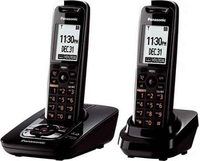 KX-TG7432B DECT 6.0 Expandable Digital Cordless Phone System