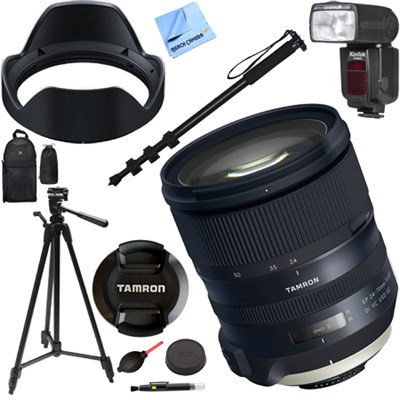 SP 24-70mm f/2.8 Di VC USD G2 Lens for Nikon Mount (AFA032N-700) Kit