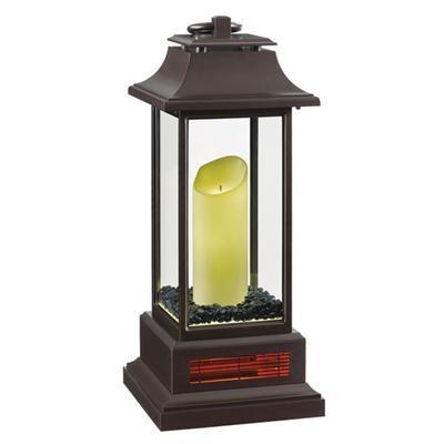 TSH LED Elec Candle Lantrn Htr