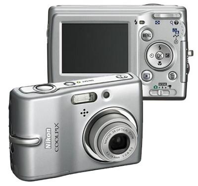 Coolpix L10 Digital Camera (Silver)