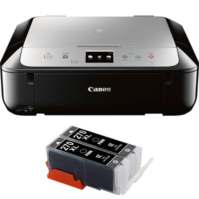 PIXMA MG6821 Wireless Color Photo Printer w/ Scanner & Copier w/ Ink Carts
