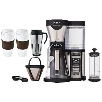 CF081 Coffee Bar Brewer w/Glass Carafe & Reusable Filter w/ Copco Mug Bundle