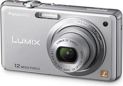 DMC-FH1S LUMIX 12.1 Megapixel Digital Camera (Silver) Open Box