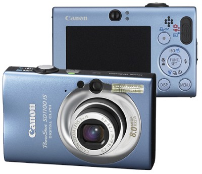 Powershot SD1100 Digital Camera (Blue)