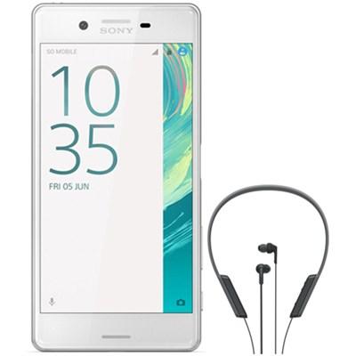 Xperia X 32GB 5-inch Smartphone Unlocked White BONUS NFC Headset