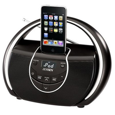 JISS-100 Portable Docking Music System for iPod