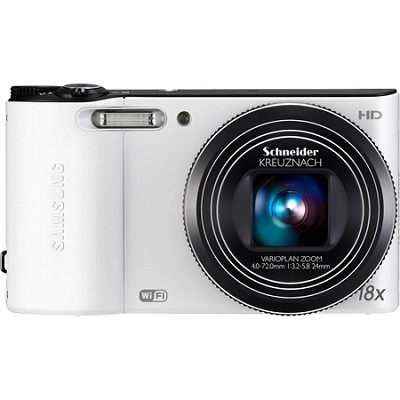 WB150F 14 MP 18X Wi-Fi Digital Camera - White
