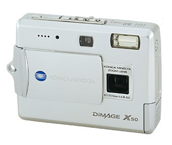 Dimage X50 Digital Camera