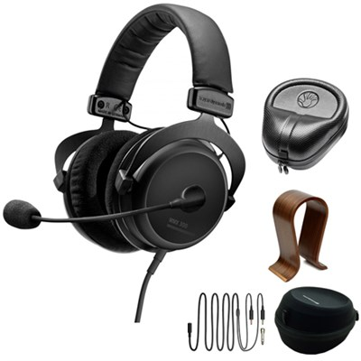 PC Gaming Digital Headset with Microphone 2nd Gen.  w/ Stand Bundle