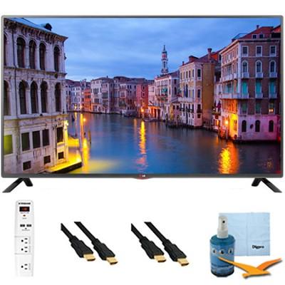 32LB560B - 32-inch 720p 60Hz LED HDTV Plus Hook-Up Bundle