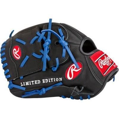 Gamer XLE 2016 Limited Edition Baseball Glove - Black/Blue, Left Hand Throw