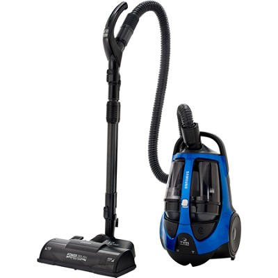 TwinChamber Bagless Canister Vacuum with 15` PowerBrush (Electric Blue)