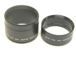 LENS BARREL ADAPTER SET F/ COOLPIX 5700 {52MM THREADS}