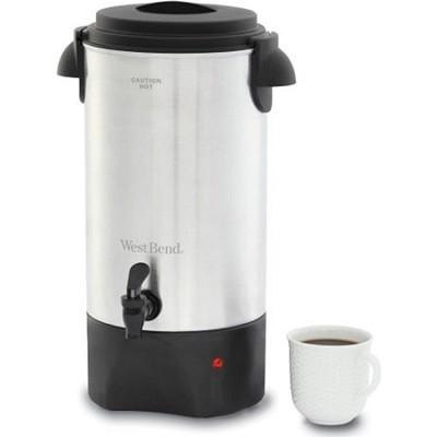 42 Cup Coffeemaker Aluminum Urn (54142) - OPEN BOX