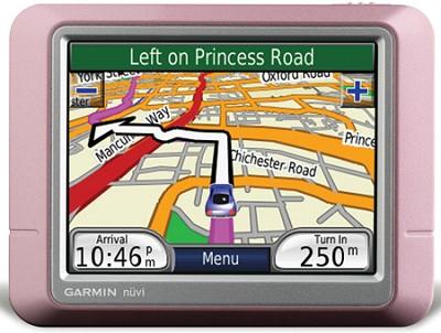 nuvi 250 Portable GPS navigation - Pink