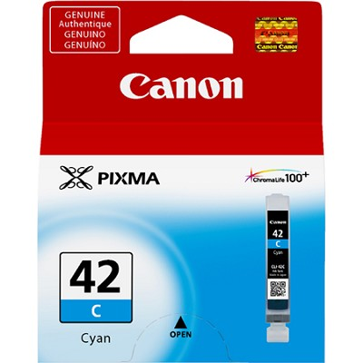 CLI-42 Cyan ChromaLife 100+ Individual Ink Catridge for PIXMA PRO 100 Printer