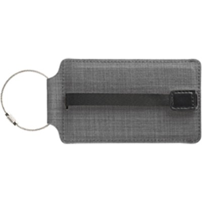 T-Tech Sliding Luggage Tag, Charcoal