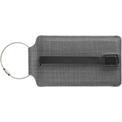 T-Tech Sliding Luggage Tag, Charcoal