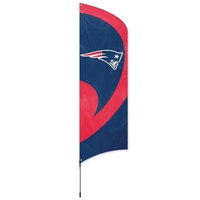 Patriots Tall Team Flag w Pole