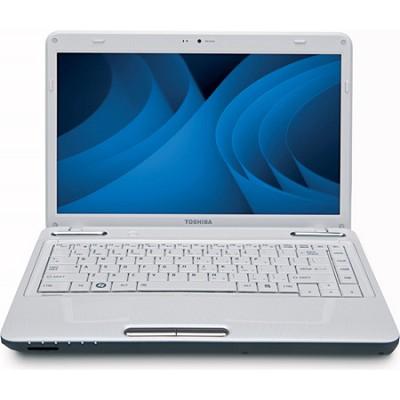 Satellite 14.0` L645-S4104WH Notebook PC - White Intel Core i3-380M Processor