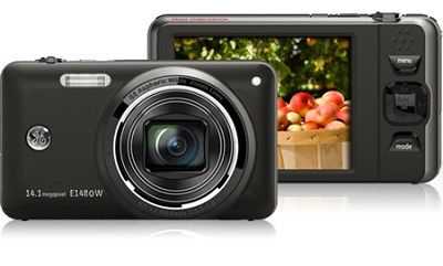 E1480W 14MP Power Series Digital Camera (Black)