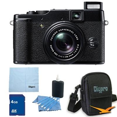 X10 12 MP EXR CMOS Digital Camera with f2.0-f2.8 4x Optical Zoom Lens
