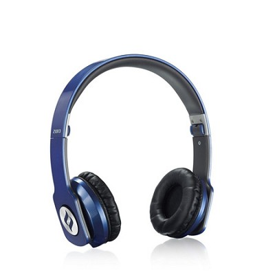 ZORO High Fashion Steel Reinforced SCCB Sound Technology Headphones Blue