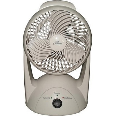 9.6V NiMH Battery Rechargeable Portable Fan with 6` Blade