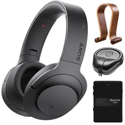 MDR100 h.Ear Wireless Noiseless Bluetooth Headphones Accessory Bundle