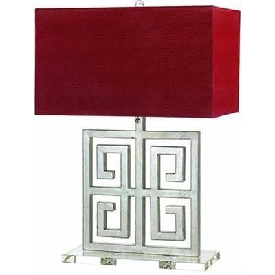 Santorini Table Lamp 2-60W Standard Bulbs 25.5 HX18 W Pull Ch On/Off