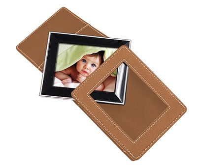 2.4 ` Portable Digital Photo Album with MP3 Player (Brown)
