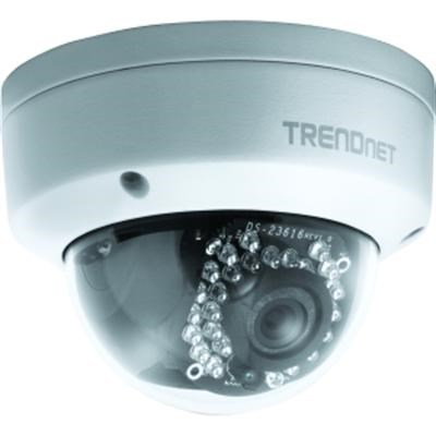 Indoor/Outdoor Dome Style, PoE IP Night Vision Camera, TV-IP311PI