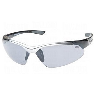 RAWL1 - Half-Rim Athletic Wrap Sunglasses