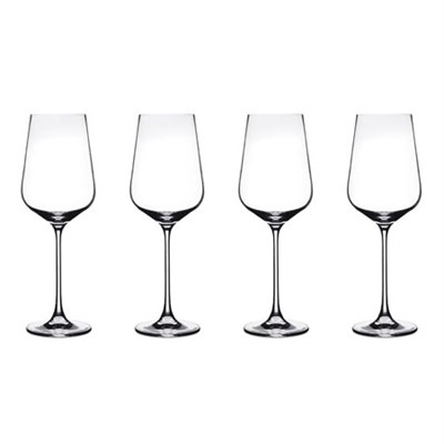 Elite Vivere Collection Red Wine Glasses, Set of 4