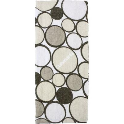 Printed Geometric Kitchen Towel - Tan