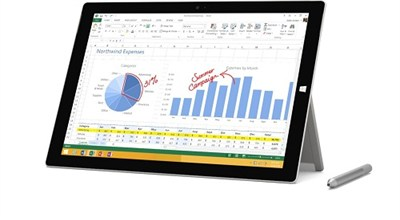 Surface Pro 3 intel Core i3-4020Y 64GB 12 Inch Tablet Computer