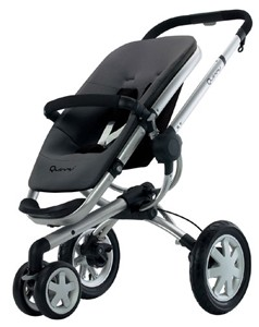 Buzz 3 Wheel Stroller (Black)