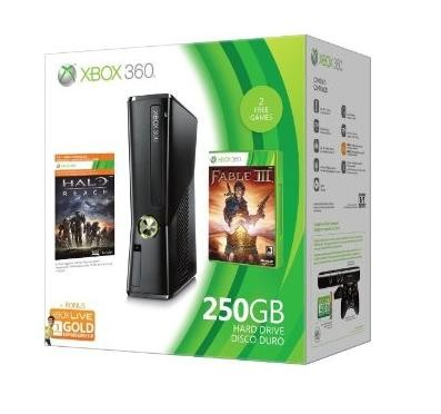 Xbox 360 Console 250GB with Built-In WiFi