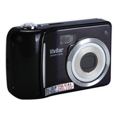 Vivicam T324N Digital Camera- Black